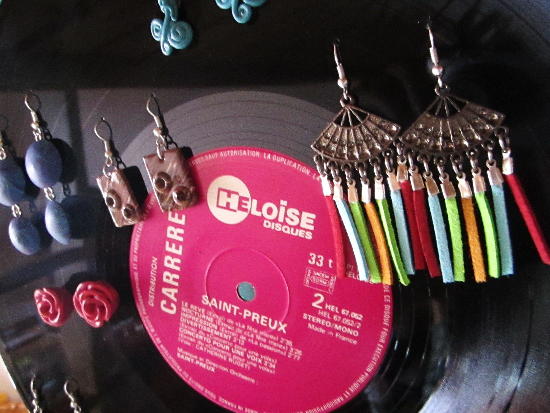 Atelier custom tuto porte bijoux vinyle mixmania - Fabriquer une platine vinyle ...